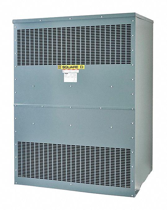 SQUARE D 500kVA Three Phase Transformer, Input Voltage: 208VAC Delta ...