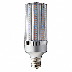 45 Watts LED Lamp, Cylindrical, Mogul Screw (E39), 5107 Lumens, 3000K Bulb Color Temp.