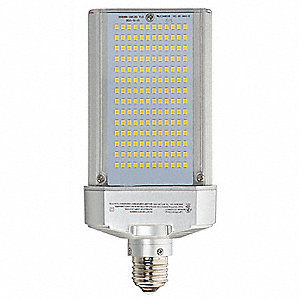50 Watts LED Lamp, Cylindrical, Medium Screw (E26), 5870 Lumens, 5700K Bulb Color Temp.