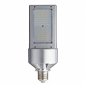 120 Watts LED Lamp, Cylindrical, Mogul Screw (E39), 11,605 Lumens, 4000K Bulb Color Temp.