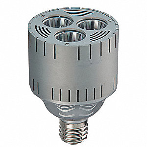 50 Watts LED Lamp, Cylindrical, Mogul Screw (E39), 3506 Lumens, 2700K Bulb Color Temp.