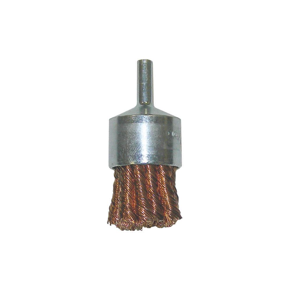 NORTON 66252839058 End Brush,Twisted,1-1//8 dia.,22000 rpm