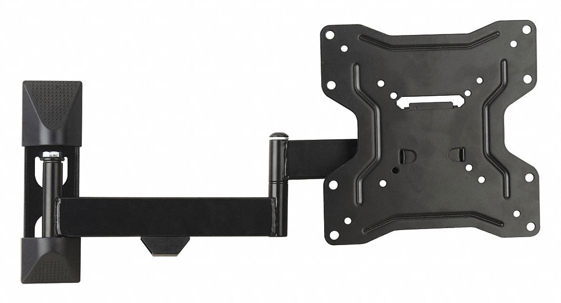 Full Motion TV Wall Mount For Use With 13 to 37 in TV Size