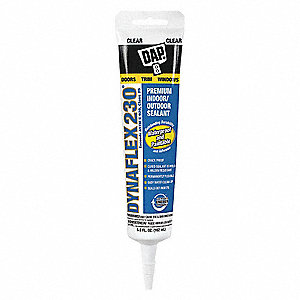Clear Caulk, Acrylic, 5.5 oz. Tube
