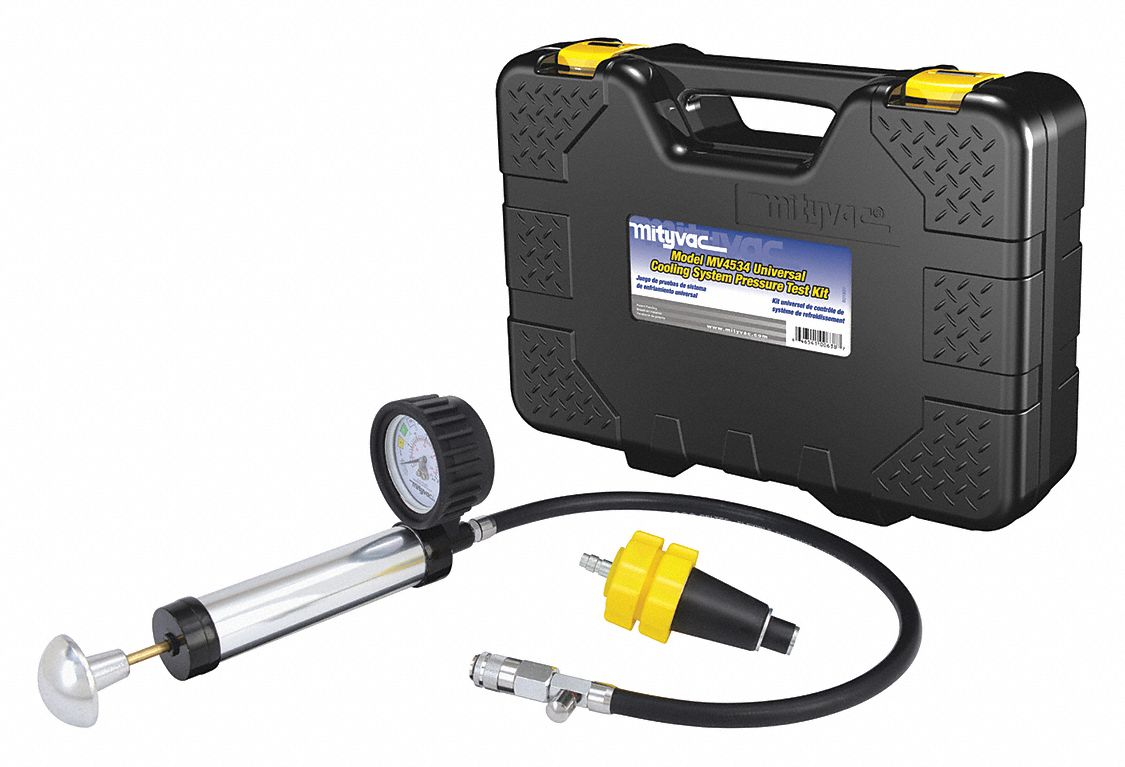 Universal Cooling System Test Kit, Black/Yellow