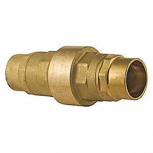 "2"" Check Valve, Archetype: Single, Inline Spring, Sweat x Sweat"