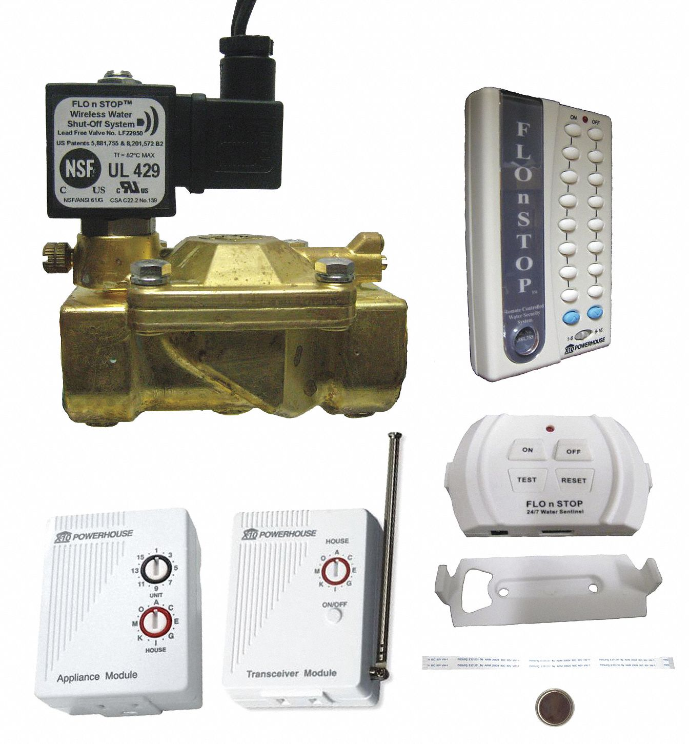 "1"" Detection and Alarm Shutoff System, FIP"