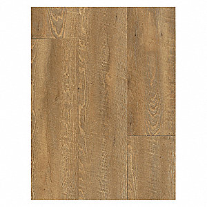 "48"" x 9"" Vinyl Tile Flooring with 36 sq. ft. per box Coverage Area, Grist Mill Buttered"