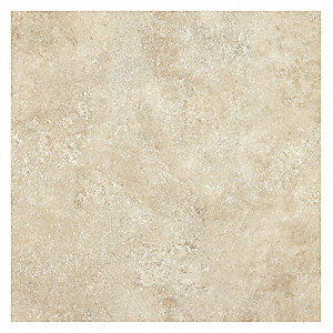 Vinyl Tile Flooring,Sierra Cream,PK16