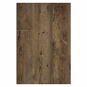 Vinyl Tile Flooring,36 sq. ft,PK18