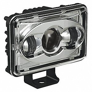 Low Beam Headlight,1890 lm,Rectangle,LED