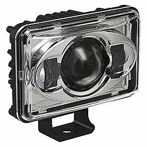 Driving Light Kit,1890 lm,Rectangle,LED