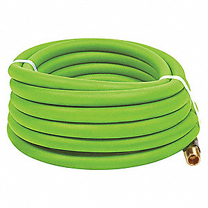 25 ft. Air Hose, Pneumatic Hose Max. Pressure: 300 psi, Green