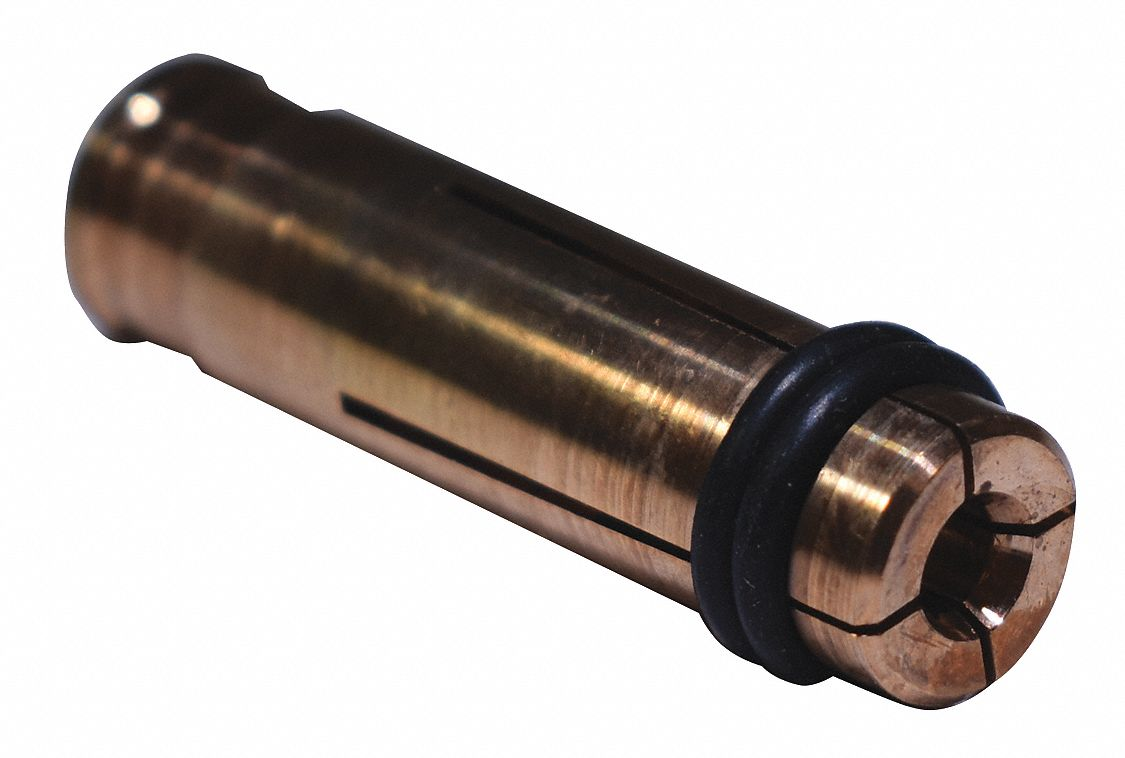 Collet, 1-3/8 in., Copper, Stud Dia. 12 ga
