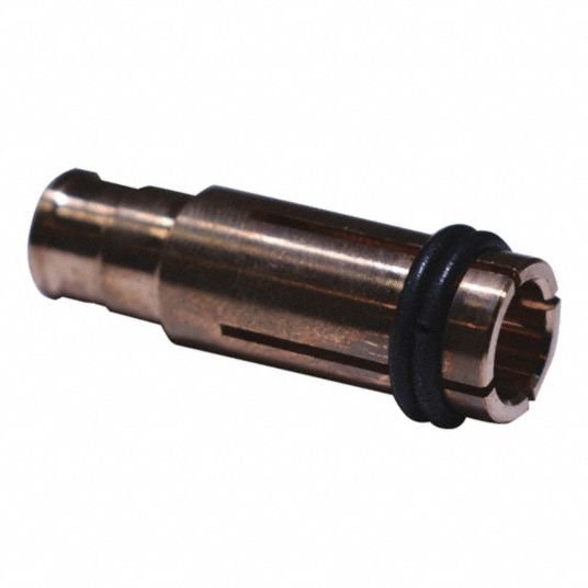 Collet, 3/8 in, Copper, For Stud/Pin Welder