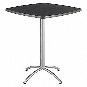 Iceberg square bistro table graphite granite height 42 depth square bistro table graphite granite height 42 watchthetrailerfo
