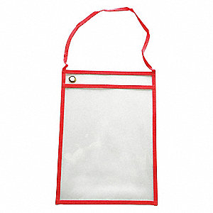 Shop Ticket Holder,Red,12 in. W,PK25