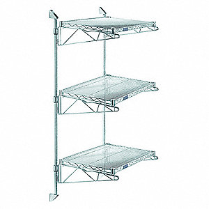 Wall Shelf,36 in. W x 14 in. D x 54 in.H