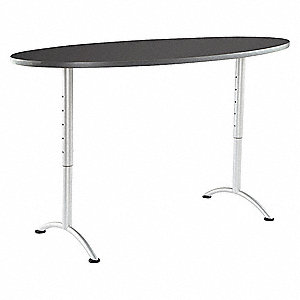 Multipurpose Table,72 in. W,Graphite