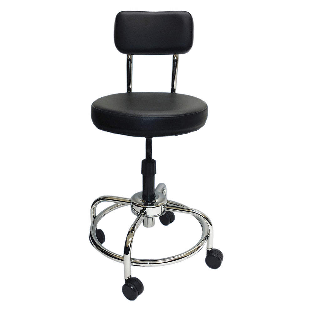 Incredible Lab Stool With 22 To 26 Seat Height Range And 300 Lb Weight Capacity Black Ibusinesslaw Wood Chair Design Ideas Ibusinesslaworg