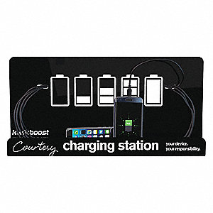 Cell Phone Chgng Station,9in.H x 18in.W