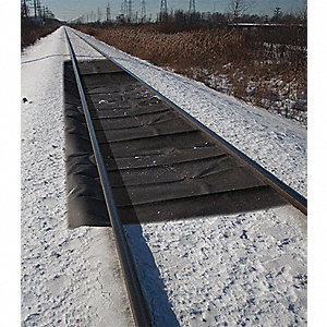 "Railroad Track Containment Mat, Length 35 ft., Width 56"", 1 EA"