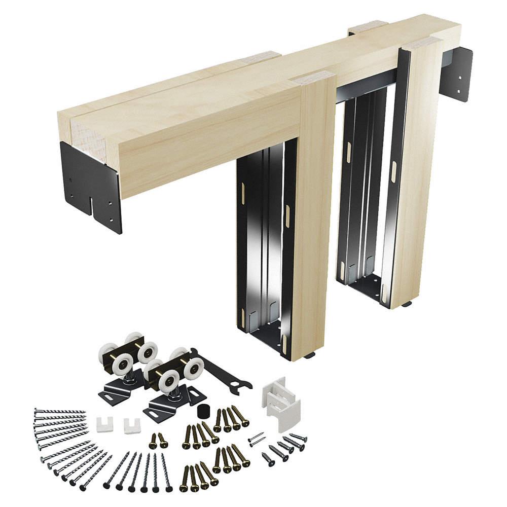 Primeline Pocket Door Kit 36 Inl 24 Inw 45uz22164553 Grainger