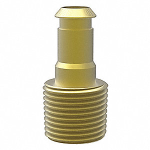 Suction Cup Fitting with 10mm Port Size; For Use With Pad Size 40 to 50mm Diameter