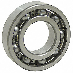 Ball Bearing, 0.1250in Dia, 22 lb, Open