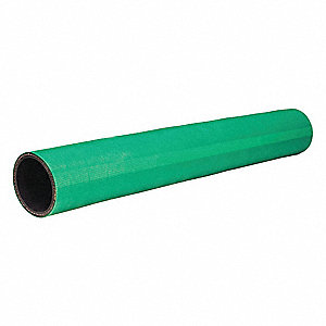 "3 ft. Straight Coolant Hose with 3"" Inside Dia., Green"