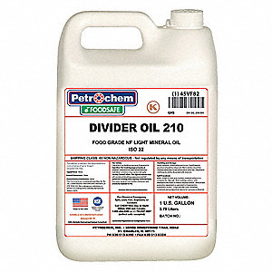 Divider Oil, 1 gal. Container Size