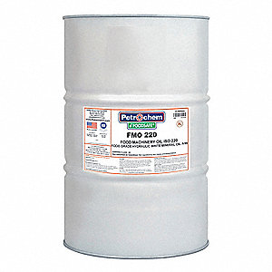 Mineral Hydraulic Oil, 55 gal. Drum, ISO Viscosity Grade : 220