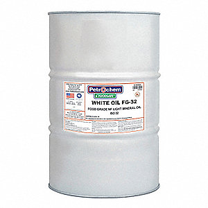 Mineral Hydraulic Oil, 55 gal. Drum, ISO Viscosity Grade : 32