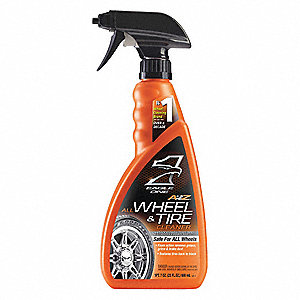 Wheel and Tire Cleaner,Liquid,23 oz.