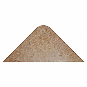 "Static Dissipative Mat, 3 ft. L, 24"" W, 1/2"" Thick, Brown"