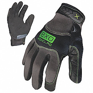 MECHANICS GLOVE M BLACK/GRAY NEOPRENE PR