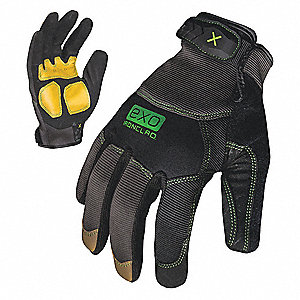 Mechanics Glove,XL,TPR Closure,PR