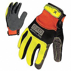 MECHANICS GLOVE M HIGH-VISIBILITY PR