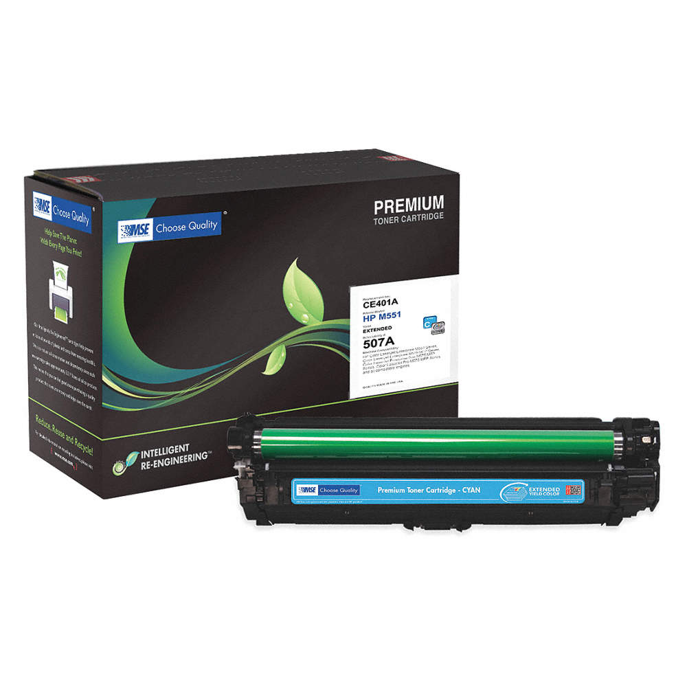 HP Toner Cartridge, No  MSE0221511142, Cyan