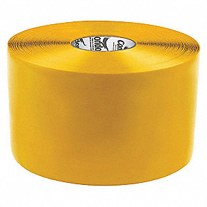 "Floor Marking Tape, Solid, Continuous Roll, 6"" Width, 1 EA"