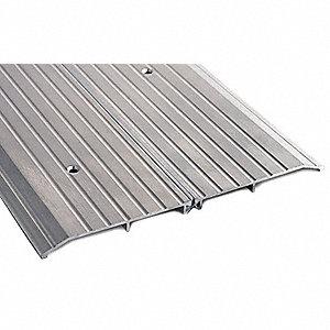 72  x 10  x 1/2  Fluted Top Door Threshold Silver  sc 1 st  Grainger & 1/2