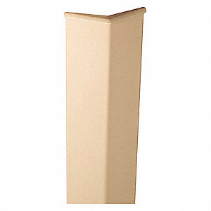 Corner Guard,3in W,Biscotti,Plastic