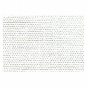 Shower Curtain,White,Vinyl,42in W
