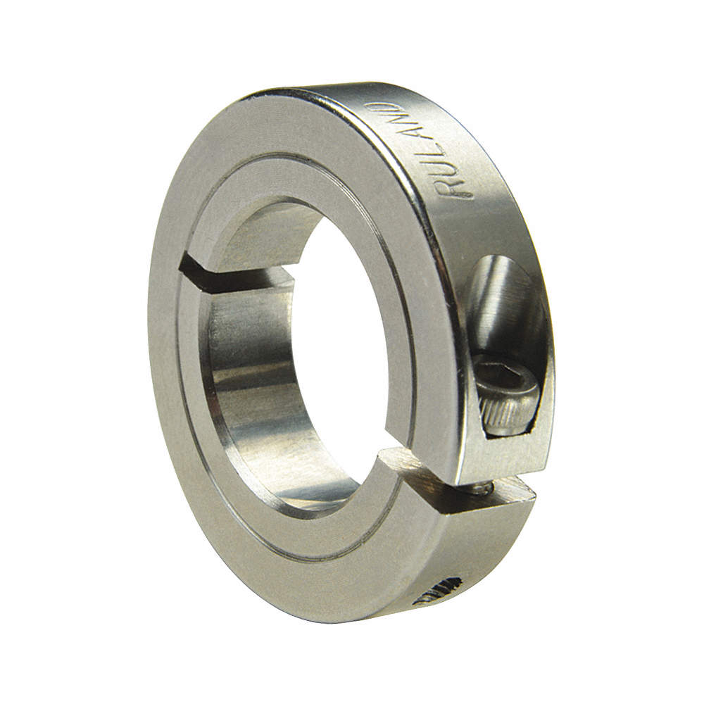 25 mm OD 10 mm Bore Thin Line One Piece 6 mm Width Ruland ENCL25-10MM-SS 303 Stainless Steel Shaft Collar