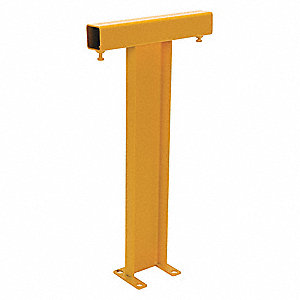 "36""H Bolt On Corner Post, Yellow"