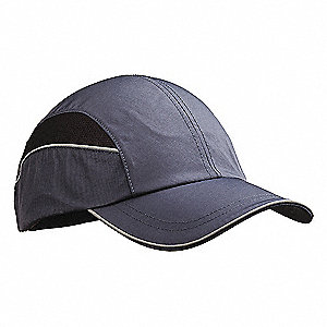 Navy Inner ABS Polymer, Outer Nylon Bump Cap, Style: All Season Baseball, Fits Hat Size: 7 to 7-3/4