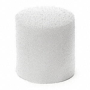 Stopper,  White,  14 to 20 Stopper Size,  14-20mm Neck Size,  Foam,  Liner Plastic Bag,  PK 900