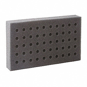Test Tube Rack, Foam, 50 Compartmnts, PK6
