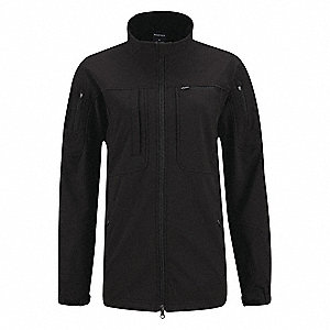 "Jacket, XS Fits Chest Size 30"" to 32"", Black Color"