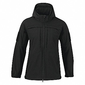 "Jacket, L Fits Chest Size 42"" to 44"", Black Color"